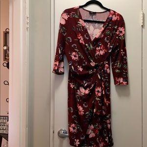 Nina Leonard Wrap dress size M